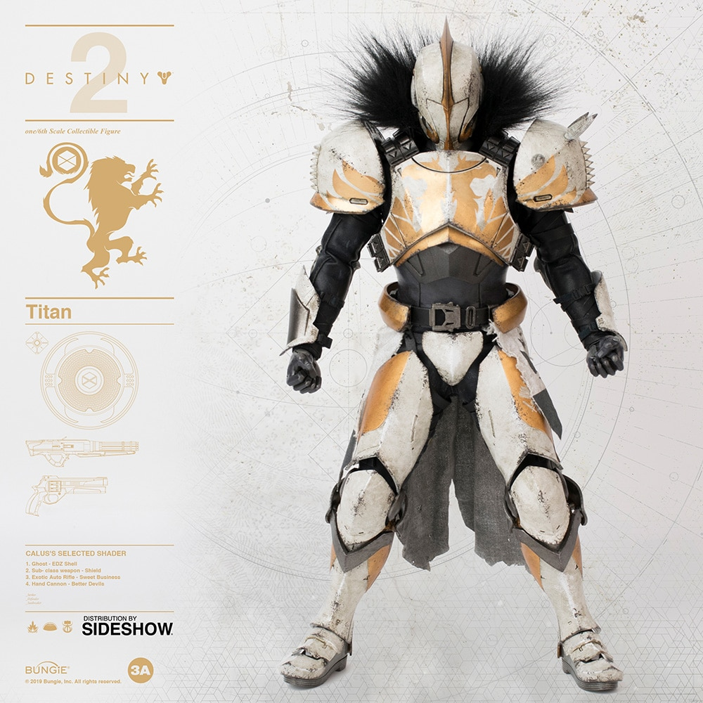 [Pre-Order] Destiny - Titan (Calus's Selected Shader)1/6 Scale Figure