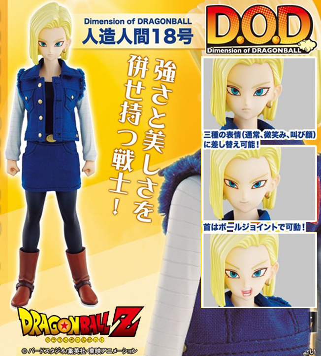 Dimension of DRAGONBALL - Android No.18
