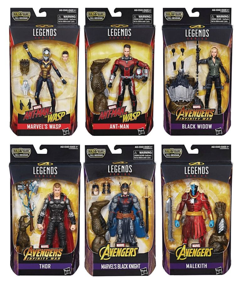 "Marvel Legends 6"" Avengers Infinity War Wave 2 Set of 6"