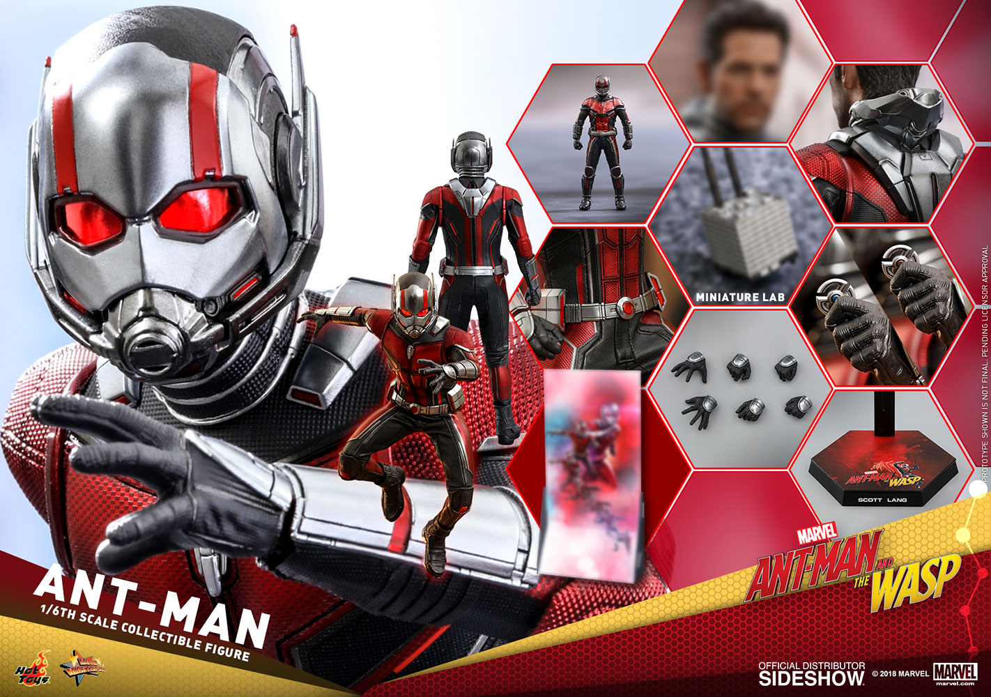 [Pre-Order] Ant-Man and the Wasp - Ant-Man Movie Masterpiece