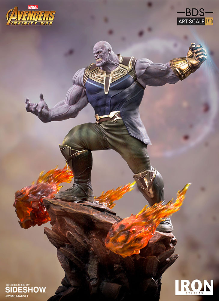 [Pre-Order] Art Scale 1:10 Battle Diorama Series: Avengers Inifinity War - Thanos