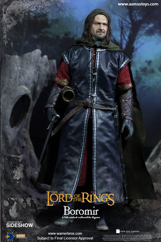 Lord of the Ring - Boromir 1/6 Scale Figure Sculpted hair Ver.