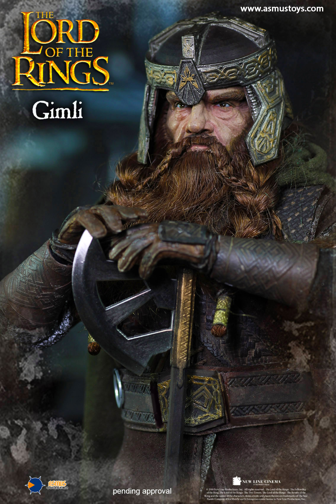 Lord of the Ring - Gimli 1/6 Scale Figure