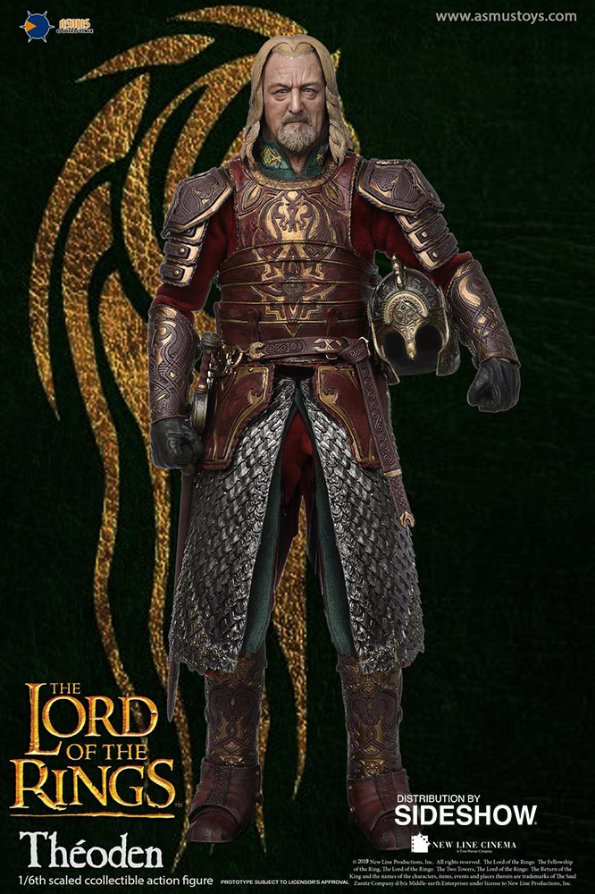 Lord of the Ring - Theoden 1/6 Scale Figure