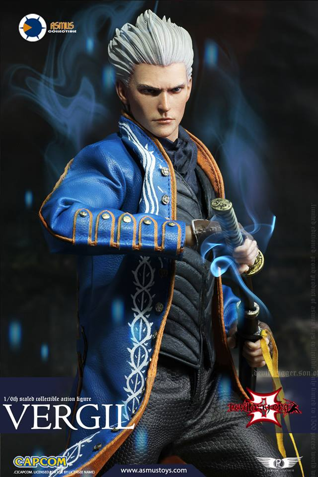 [Pre-Order] Devil May Cry IV - Vergil Sixth Scale Figure - Click Image to Close