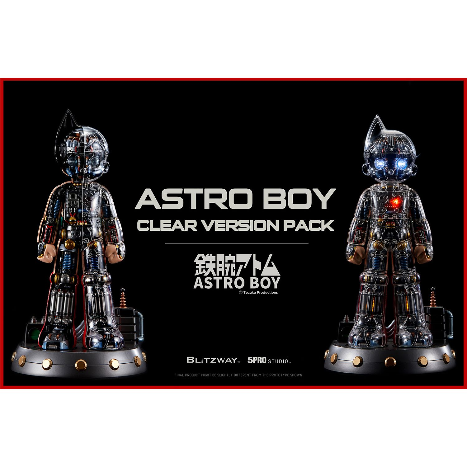 [Pre-Order] Astro Boy Clear ver. Pack