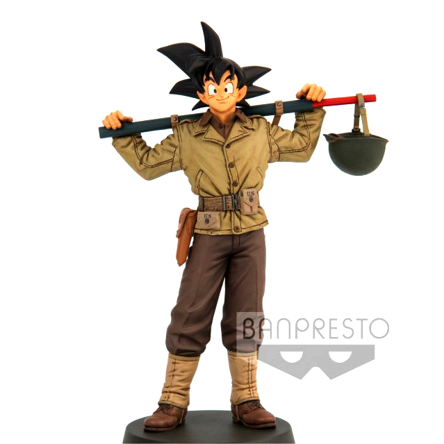 Dragon Ball Z World Figure Colosseum 2 Vol 4 - Son Goku