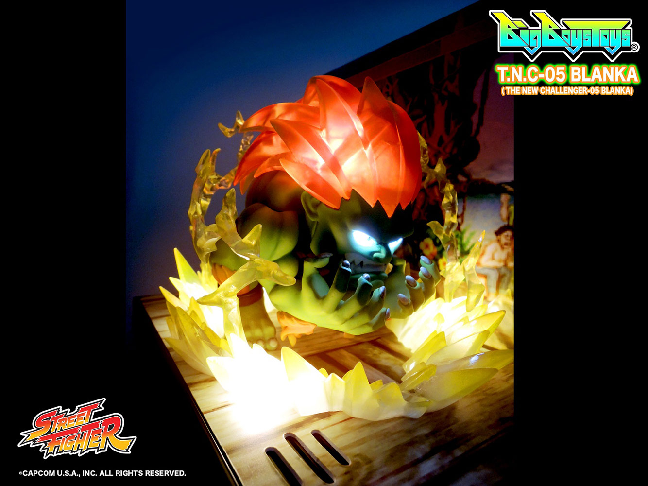 [Pre-Order] Street Fighter - Blanka PVC Figure