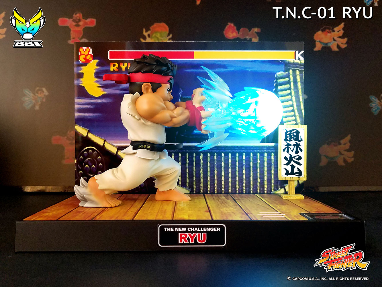 [Pre-Order] Street Fighter - Ryu PVC Figure