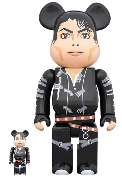 [Pre-Order] Bearbrick 400% + 100% Michael Jackson Bad