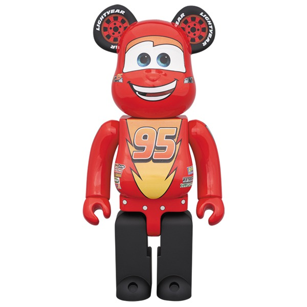 [Pre-Order] Bearbrick 400% Lighting McQueen - Click Image to Close