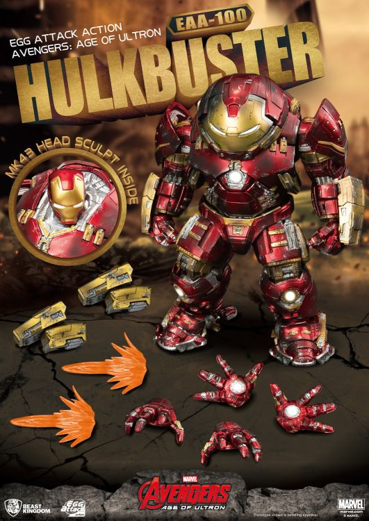 [Pre-Order] Egg Attack Action : Avengers Age of Ultron - Hulkbuster