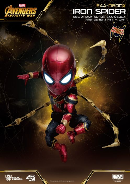 Egg Attack Action : Avengers Infinity War - Iron Spider Deluxe Ver.