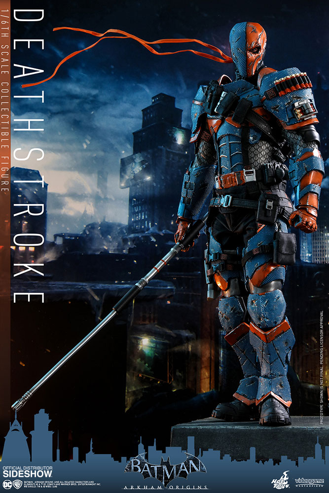 [Pre-Order] Batman Arkham Origins - Deathstroke Movie Masterpiece - Click Image to Close