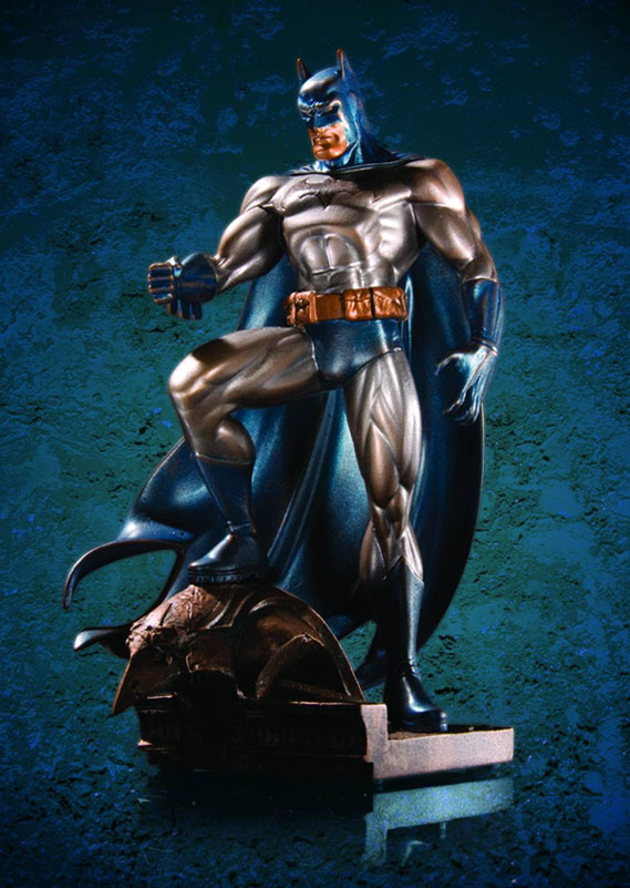 Batman Patina Mini Statue