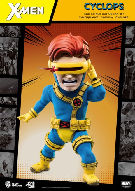 Egg Attack Action : X-Men - Cyclops *Clearance