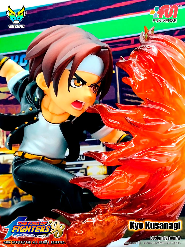 [Pre-Order] The King of Fighters - Kyo Kusanagi PVC Figure