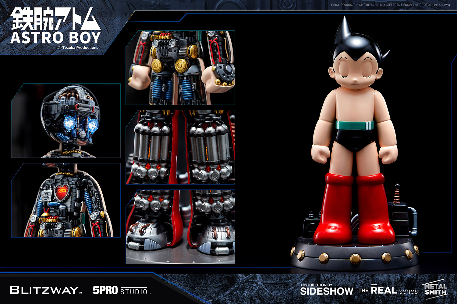 [Pre-Order] Astro Boy - Atom Statue - Click Image to Close