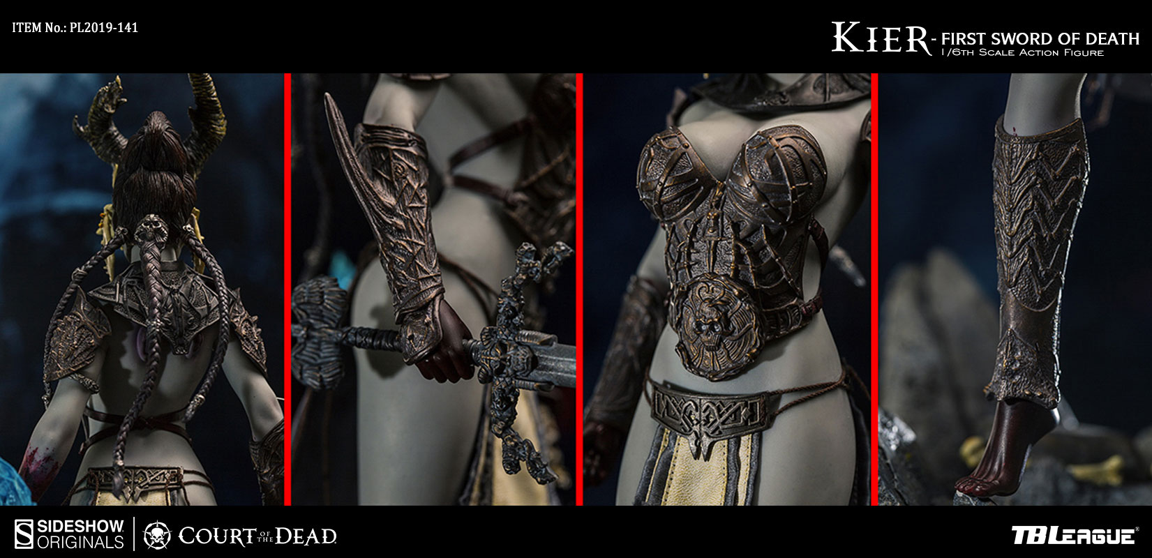 Kier - First Sword of Death Sixth Scale Action Figure