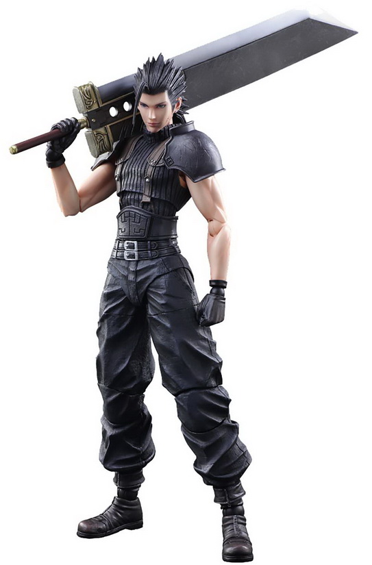 [Pre-Order] Play Arts -Kai- Final Fantasy VII Crisis Core - Zack Fair