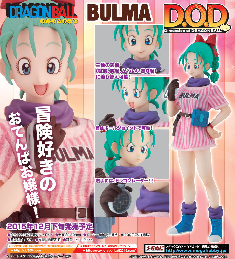 Dimension of DRAGONBALL - Bulma