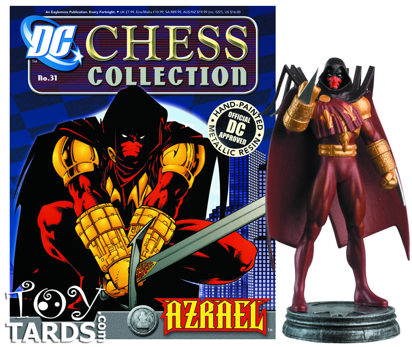 DC Superhero Chess Magazine #31 Azrael (White Pawn)