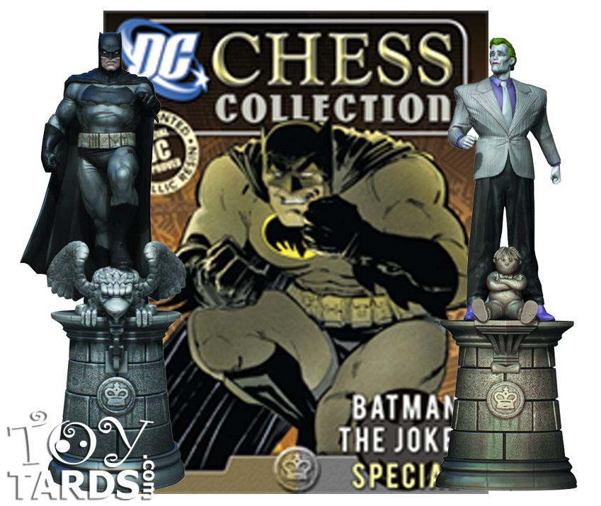 DC Superhero Chess Magazine #1 Special Batman & Joker