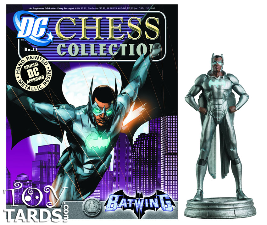 DC Superhero Chess Magazine #23 Batwing (White Pawn)
