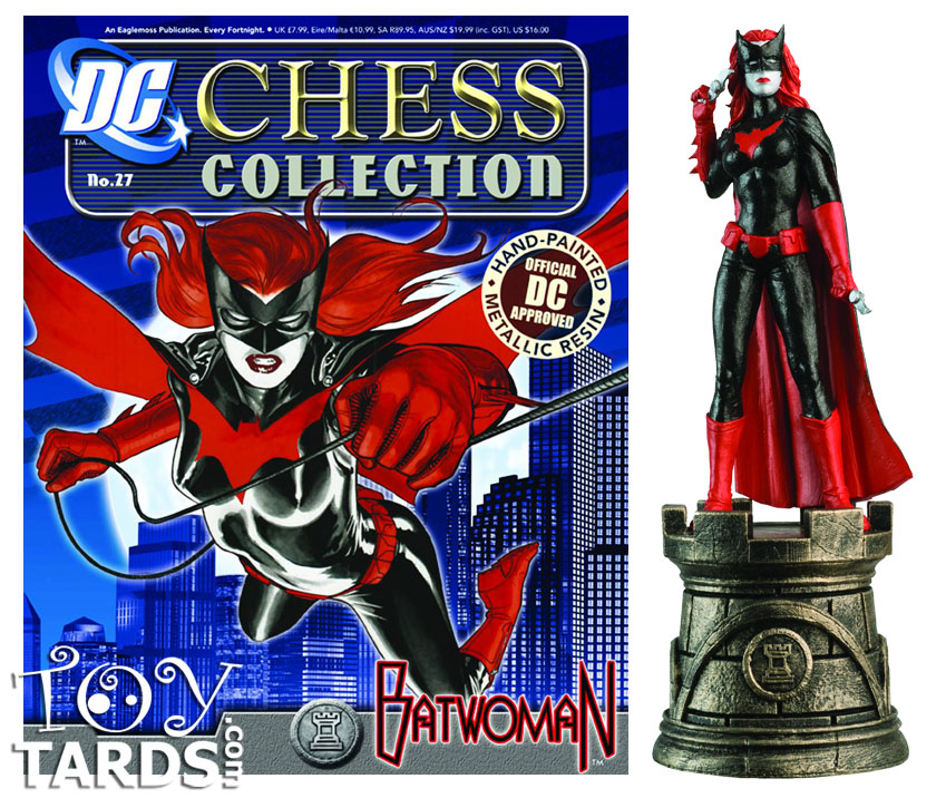 DC Superhero Chess Magazine #27 Batwoman (White Rook)