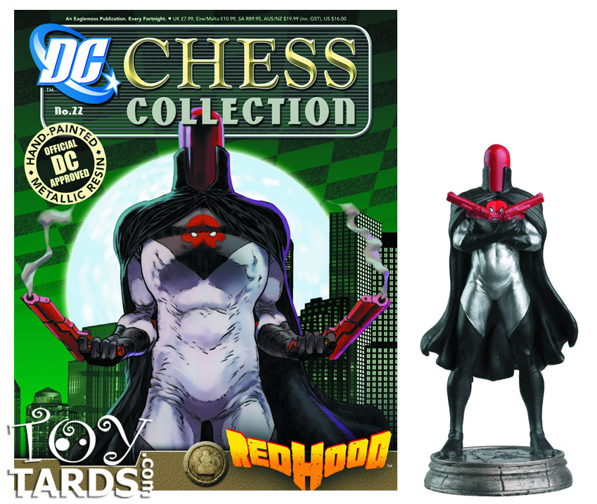 DC Superhero Chess Magazine #22 Red Hood (Black Pawn)