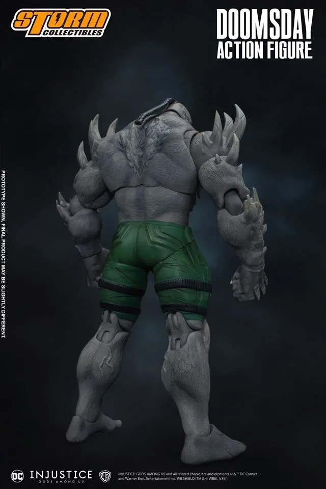 [Pre-Order] Injustice: Gods Among Us - Doomsday 1/12 Action Figure