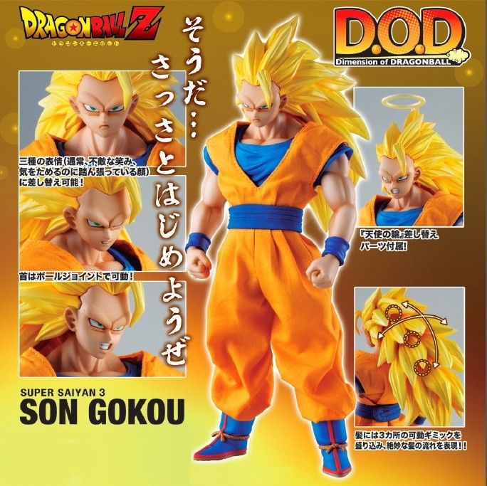 Dimension of DRAGONBALL - Super Saiyan 3 Goku