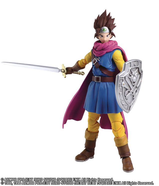 Bring Arts: Dragon Quest III Hero Action Figure