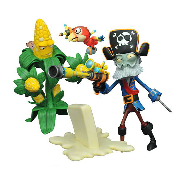 PvZ: Garden Warfare - Kernel Corn vs. Captain Deadbeard