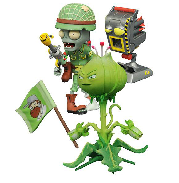 PvZ: Garden Warfare - Weed vs. Soldier Zombie