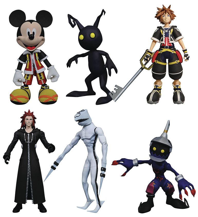 Diamond Select - Kingdom Hearts Series 1 Set