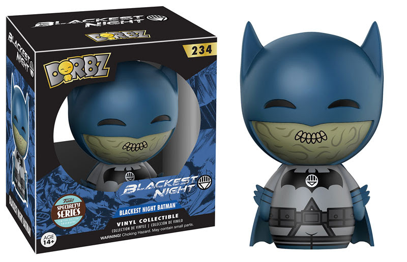 Dorbz Specialty Series: DC Blackest Night Batman