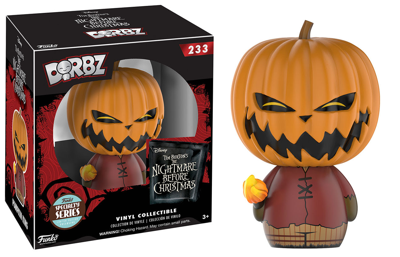 Dorbz Specialty Series: Nightmare Before Christmas - Pumpkin King