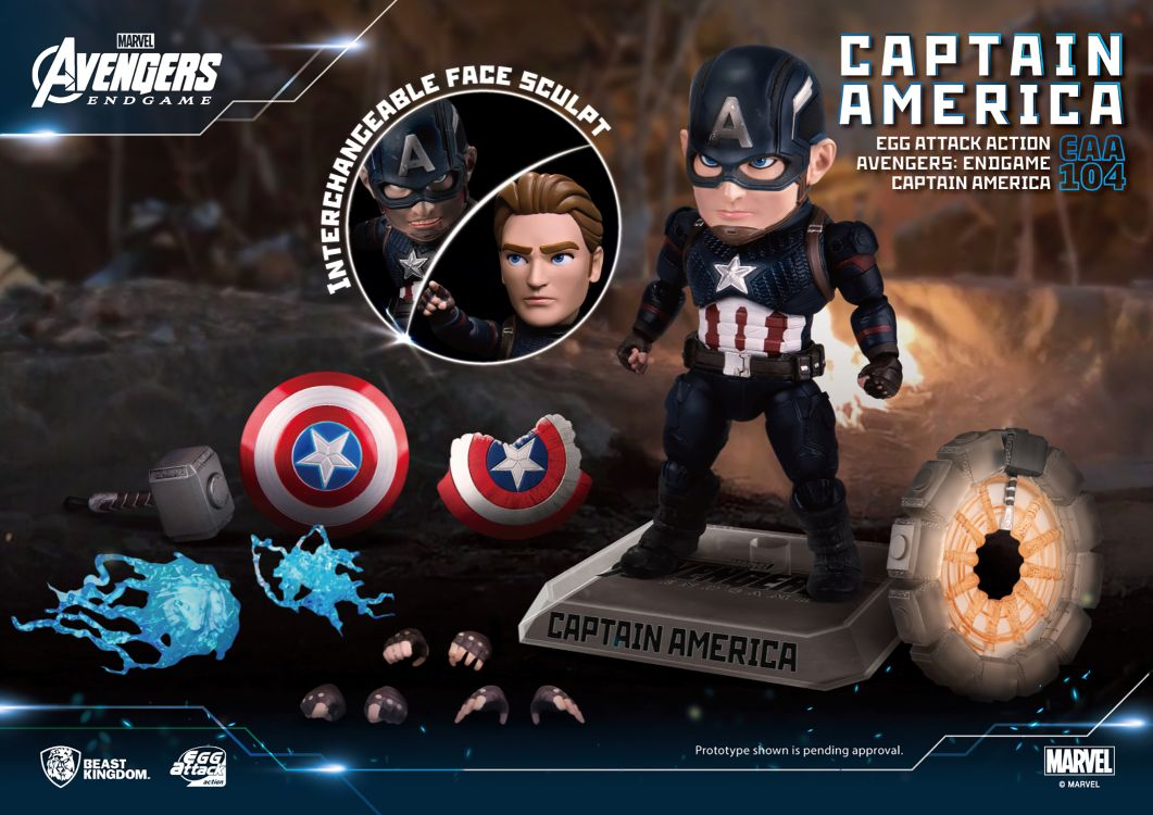 [Pre-Order] Egg Attack Action : Avengers Endgame - Captain America