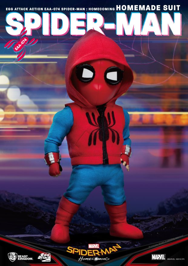 [Pre-Order] Egg Attack Action : Spider-Man Homecoming - Spider-Man Homemade Suit