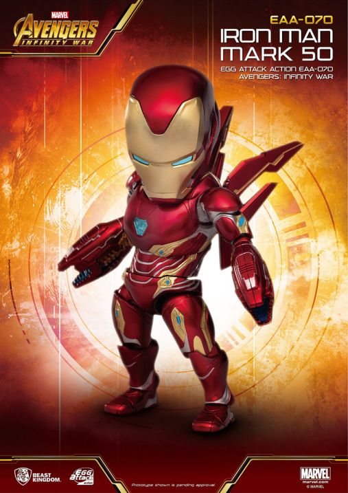 [Pre-Order] Egg Attack Action : Avengers Infinity War - Iron Man Mark 50