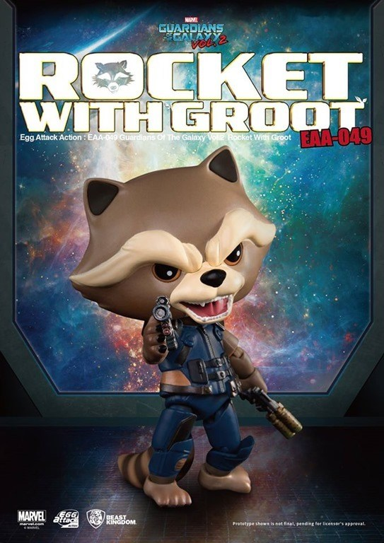 [Pre-Order] Egg Attack Action : GOTG Vol 2. - Rocket with kid Groot