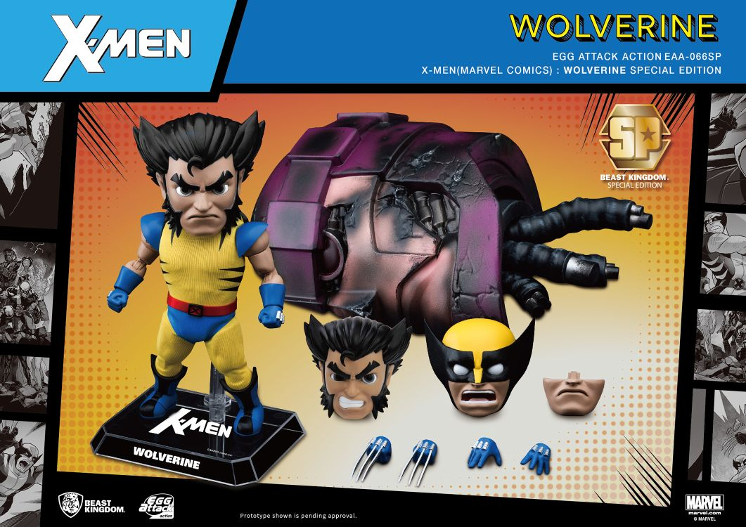 [Pre-Order] Egg Attack Action : Wolverine Special Edition