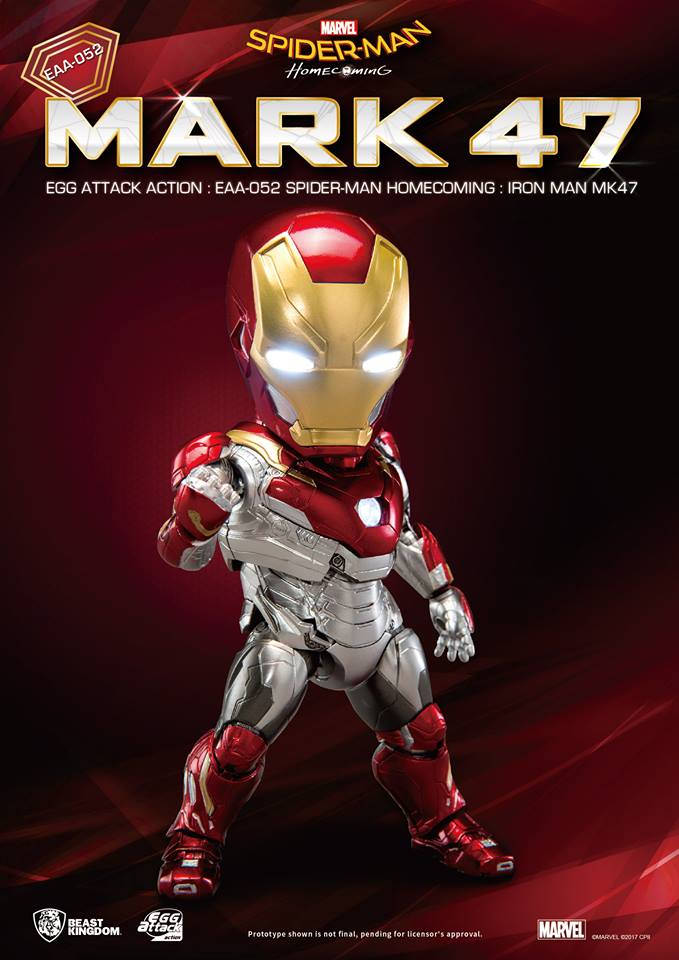 [Pre-Order] Egg Attack Action : Spider-Man Homecoming - Iron Man Mark 47
