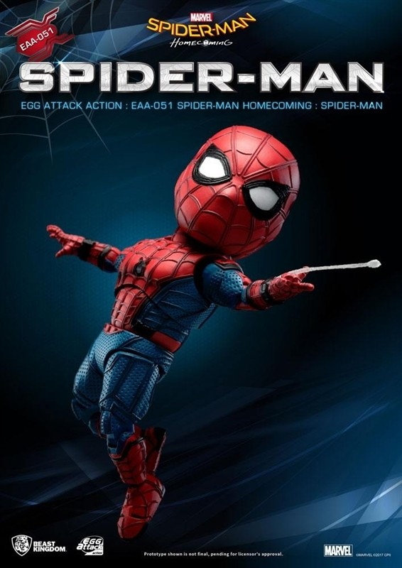 [Pre-Order] Egg Attack Action : Spider-Man Homecoming - Spider-Man