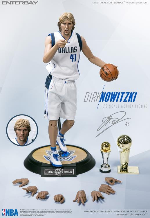 NBA - Dirk Nowitzki Real Masterpiece - Click Image to Close