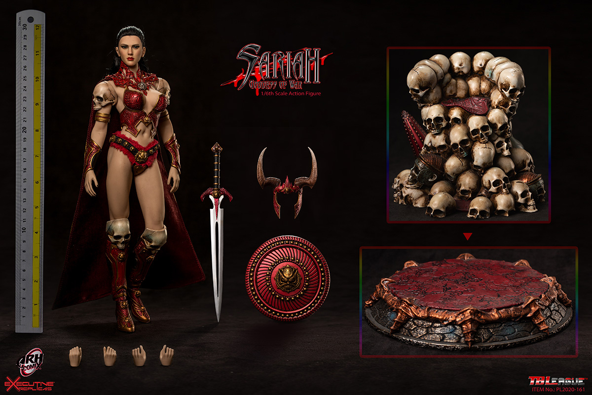 [Pre-Order] Goddess of War Sariah 1/6 Scale Action Figure