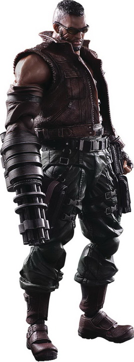 Play Arts -Kai- Final Fantasy VII - Barret Wallace Remake Ver.