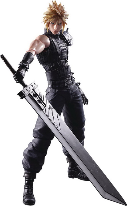 Play Arts -Kai- Final Fantasy VII - Cloud Strife Remake Ver.