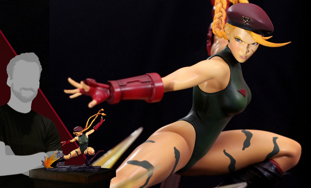 [Pre-Order] Femmes Fatales Diorama - Cammy White - Click Image to Close